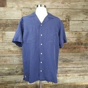 Polo ralph lauren Button down Blue Shirt M